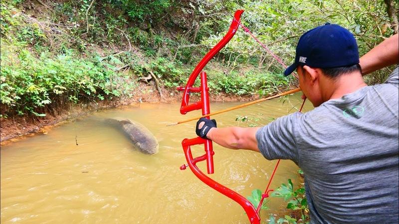 Building Amazing PVC Power Springs Bowfishing For Shooting Fish Make n Use