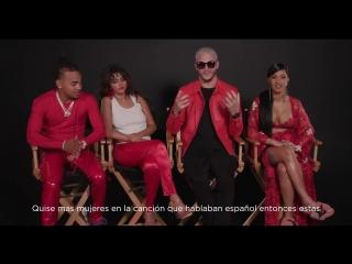 Selena and DJ Snake, Cardi B, and Ozuna talking about Taki Taki