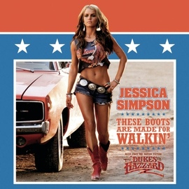 Jessica Simpson альбом These Boots Are Made For Walkin'