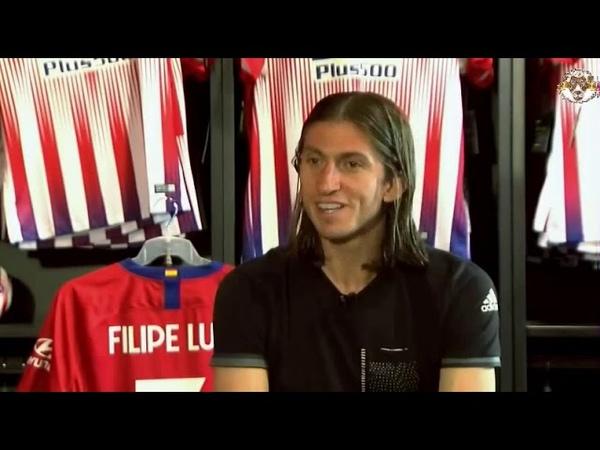 لقاء خاص مع لاعب أتلتيكو مدريد والمنتخب ال1