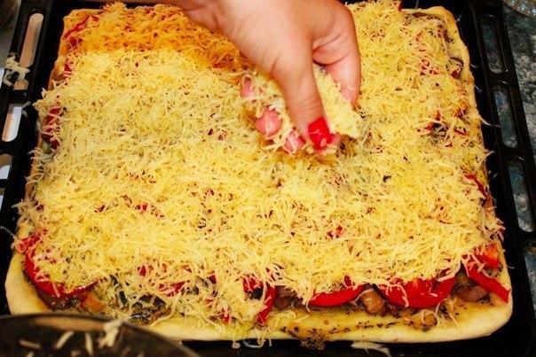 Пицца, которая вам точно понравится!