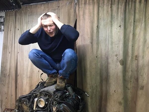 Покрутил стартером и опять в яму BMW 7 Series ШИШИГА Эпизод 7