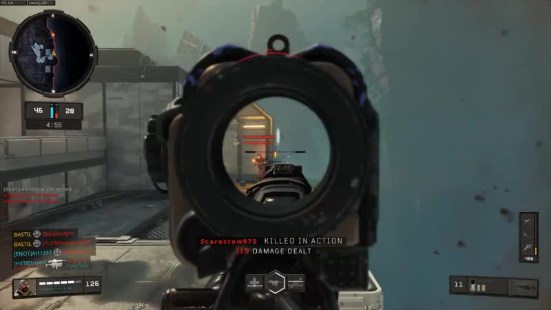 When you get the blood lust going and forget how bad you are. Black Ops 4
