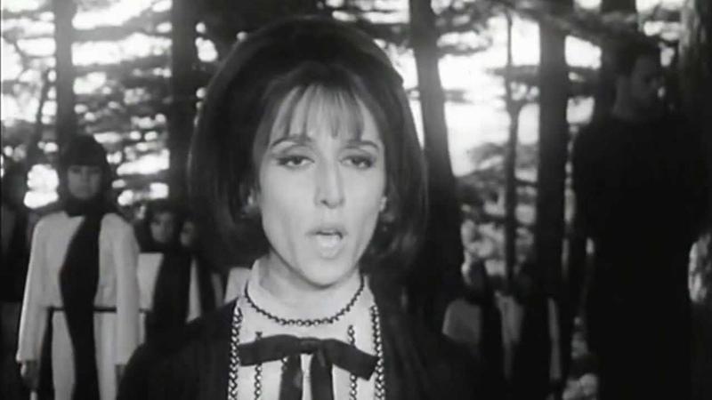 Fairouz Zahrat Almada'en - فيروز - زهرة المدائن - مهرجان الأرز 1967