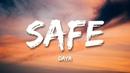 Daya – Safe (Lyrics)