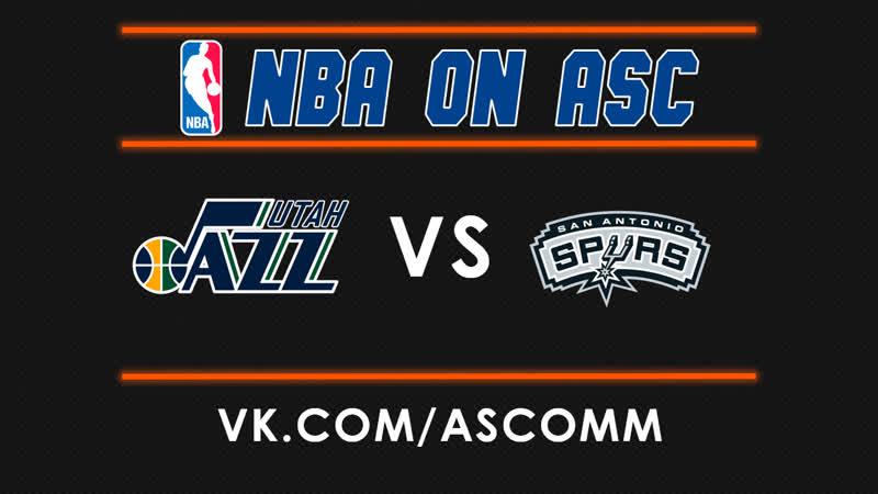 NBA   Jazz VS Spurs