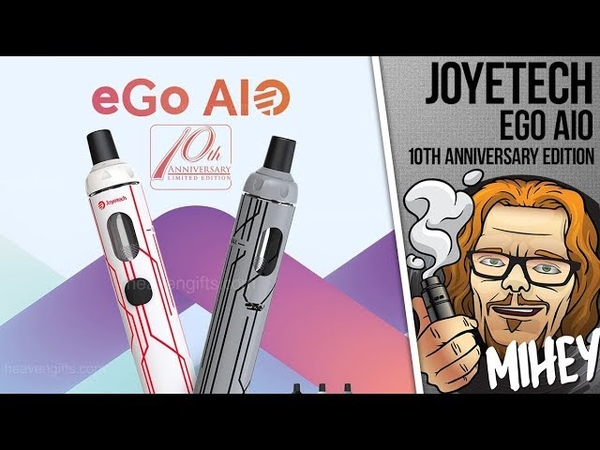 Joyetech eGo AIO (10th Anniversary Edition). Снова здорова. 🎷🎻🎹🎸