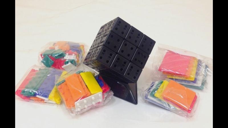 Обзор Cubetwist Bandage cube DIY kit