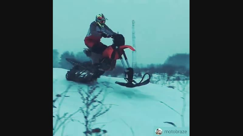 Комплект от @ snowrider_moto просто шикарен! Подвеска стала гораздо эффективнее отрабатывать неровности, а увеличенный ход позво