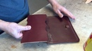 Making a Leather Bible Cover