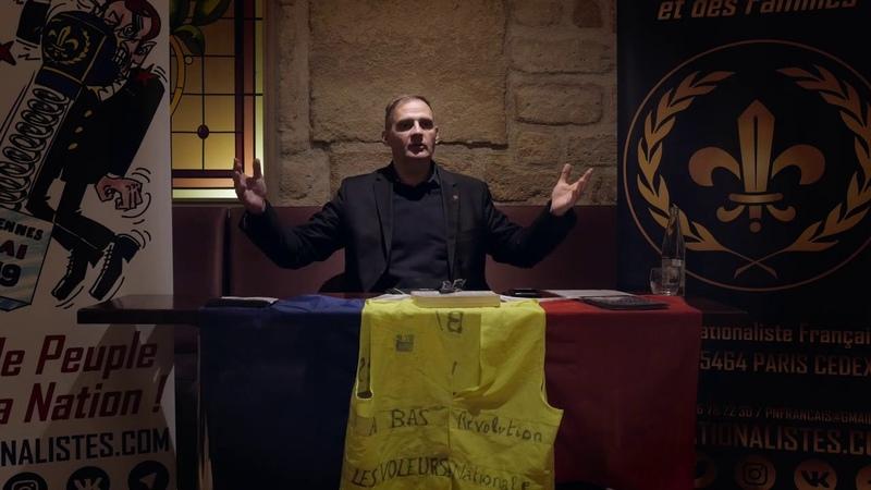 Gilets jaunes Conférence de presse dYvan Benedetti Questions des journalistes