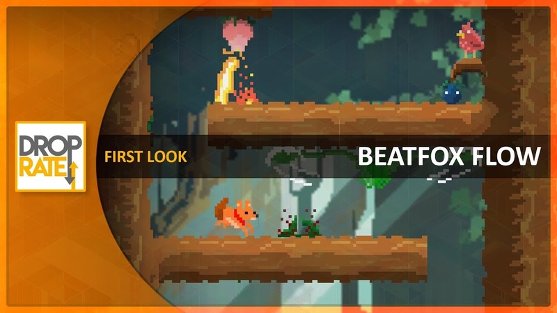 First Look: 'BeatFox Flow' (Itch.io)