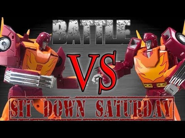 Takara Tomy Hot Rod VS Fanstoys Hoodlum