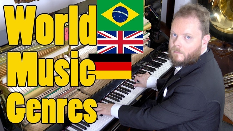 A Music Genre for Each Country of the World