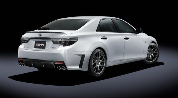 Toyota вернула Mar X спортивную версию GRMN: мотор стандартный, зато с «механикой».