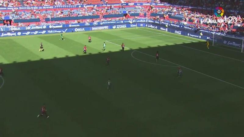 CA Осасуна - Реал Спортинг Хихон, 1-0, Сегунда 2018-2019, 6 тур