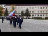 Торжественный марш личного состава 137 ПДП в честь 70-летнего юбилея полка