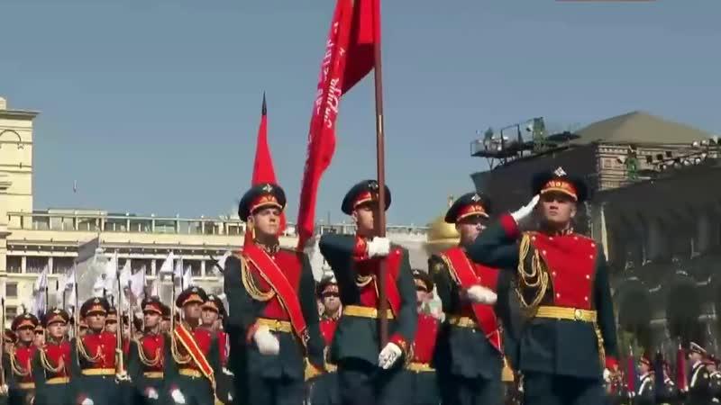 Песня Служить России Военный парад Красной площадь патриотические песни