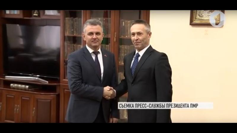 Президент Вадим Красносельский и посол Словакии о переговорах