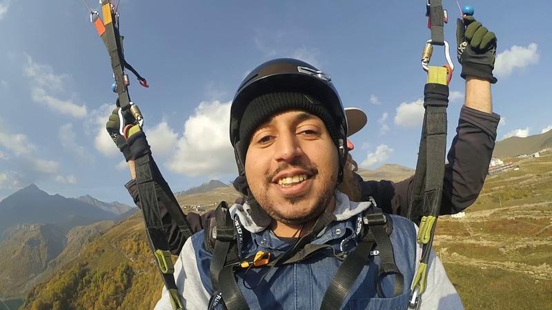 12102018 gudauri paragliding полет гудаури بالمظلات، جورجيا بالمظلات gudauriparagliding com 67