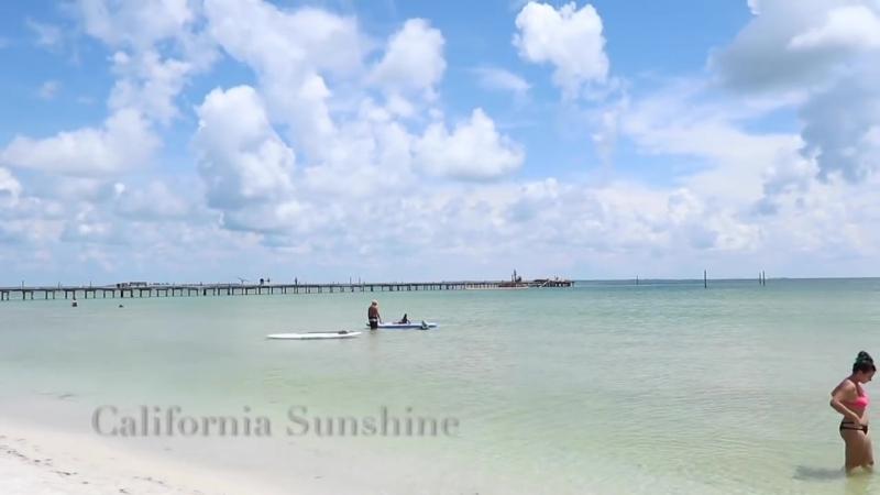 США! Остров Анна - Мария, Флорида