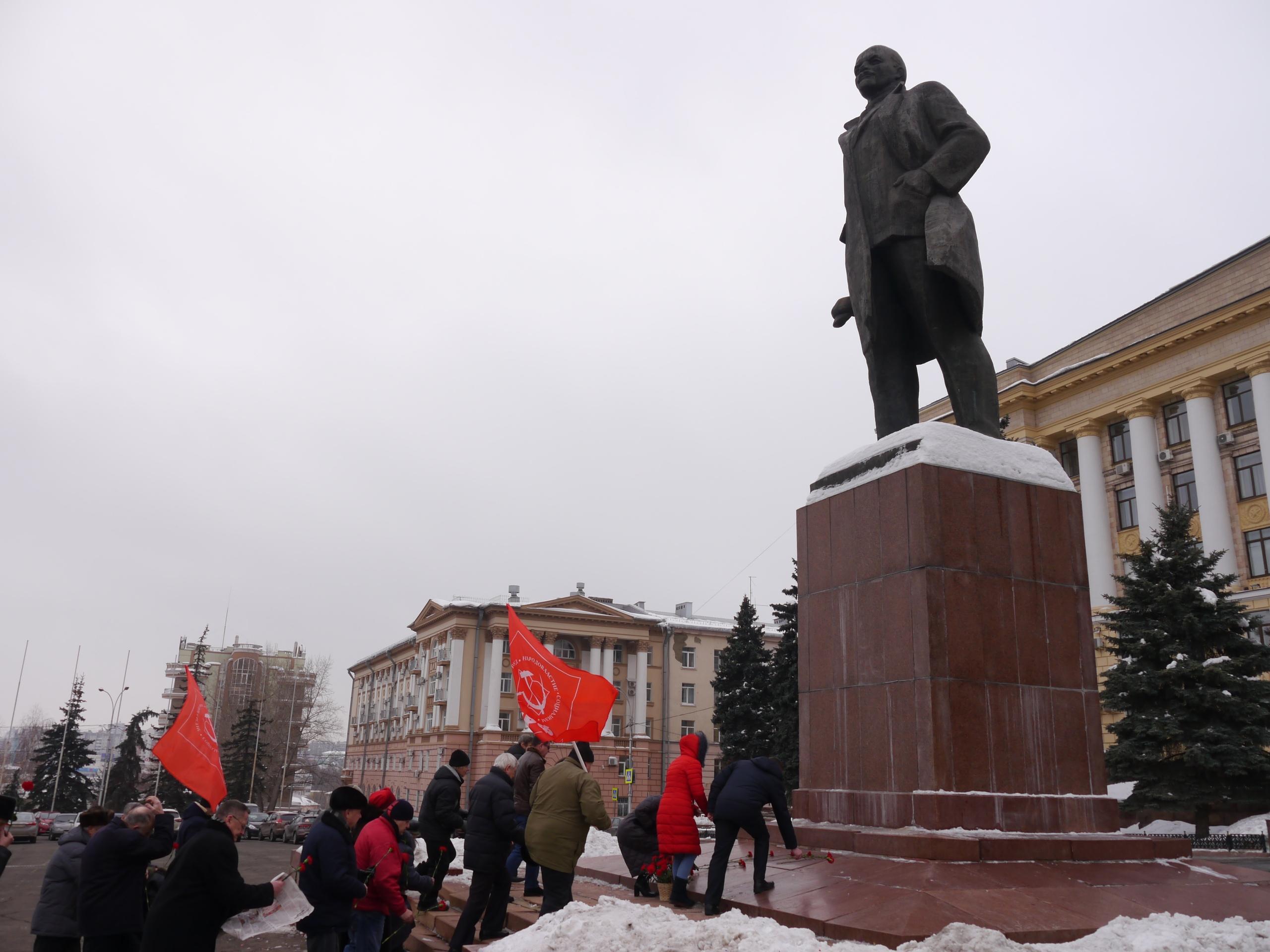95 лет назад не стало Ленина