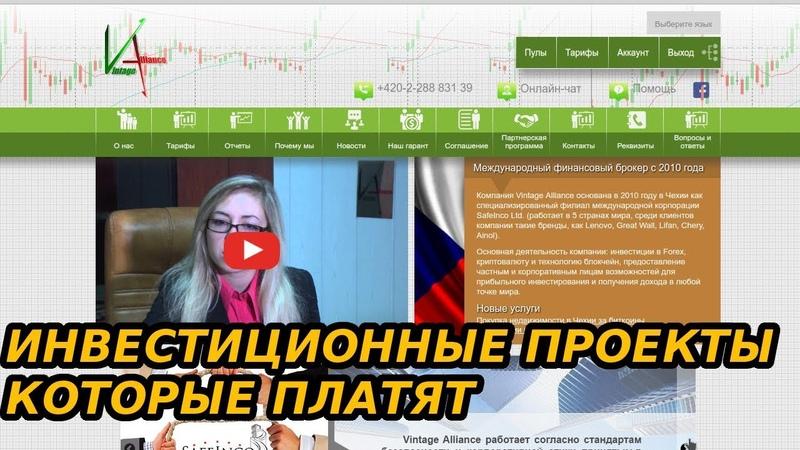 Презентация Проекта Vintagealliance Доход От 1 % В День. RichGaran Инвестиции