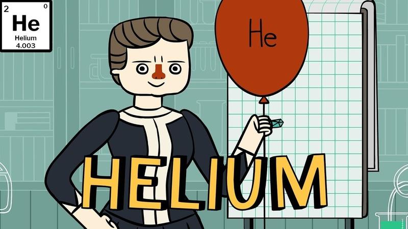 Marie Curie's Periodic Pantry: Helium