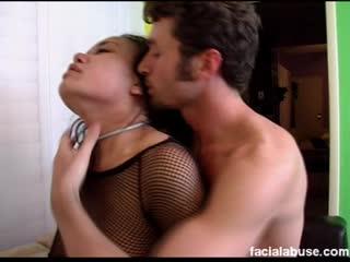 FacialAbuse  - Annie Cruz порно унижение жестко