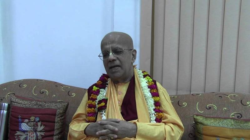 H.H. Gopal Krishna Goswami, Darshan for disciples, Vrindavan, Kartika 14.11.2012