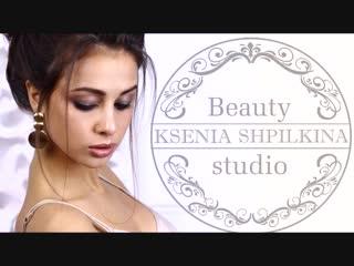 Текстурная прическа и макияж от Beauty Stadio Ксении Шпилькиной