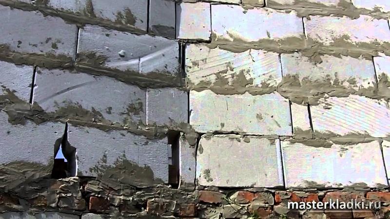 Кладка газоблока и смех и грех 1 серия Во всем виноваты пчелы © masterkladki