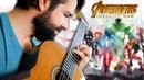 AVENGERS: INFINITY WAR - Main Theme Classical Guitar Cover (BeyondTheGuitar)