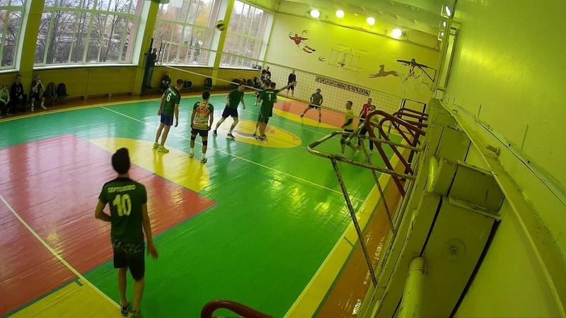 VolleySert-Стрела 3-2 Часть-1 Медиум-Север КВЛ 2018