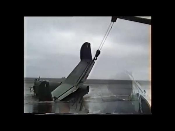 1991 г Гидросамолёт в Южно Курильской бухте. Спасательные работы.