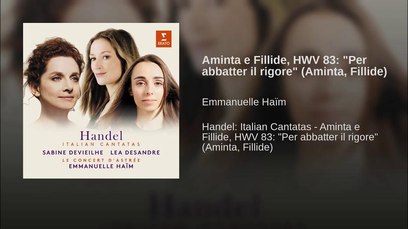 Aminta e Fillide, HWV 83: Per abbatter il rigore (Aminta, Fillide)