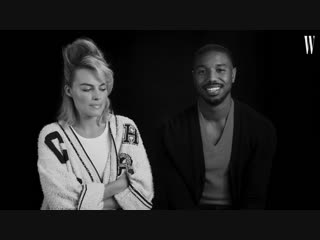 Michael B. Jordan and Margot Robbie on Being Each Other's Movie Crushes