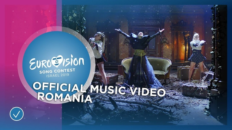 Ester Peony On A Sunday Romania 🇷🇴 Official Music Video Eurovision 2019