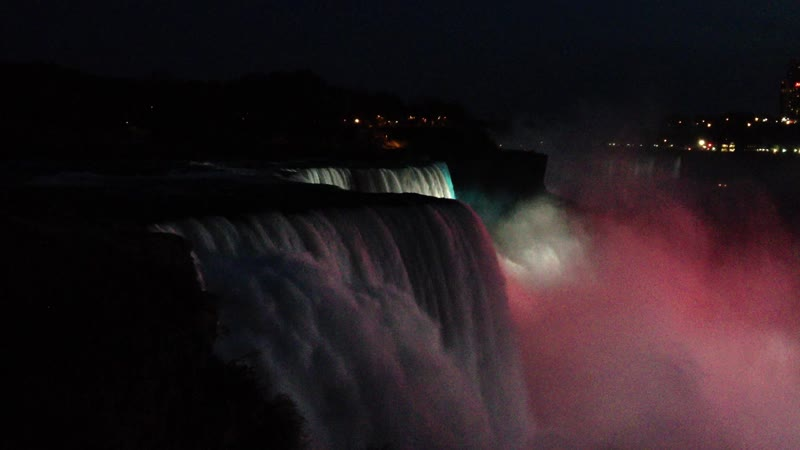 Niagara Falls Author's archive video Waiting for the event