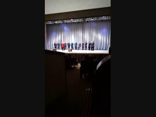 Валаамский хор в Пскове, БКЗ филармонии.