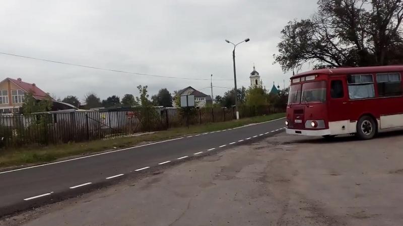 Максим Подлегаев за рулем ЛиАЗ-677М.mp4