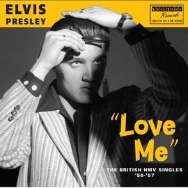 Elvis Presley альбом Love Me - The British Hmv Singles '56-'57
