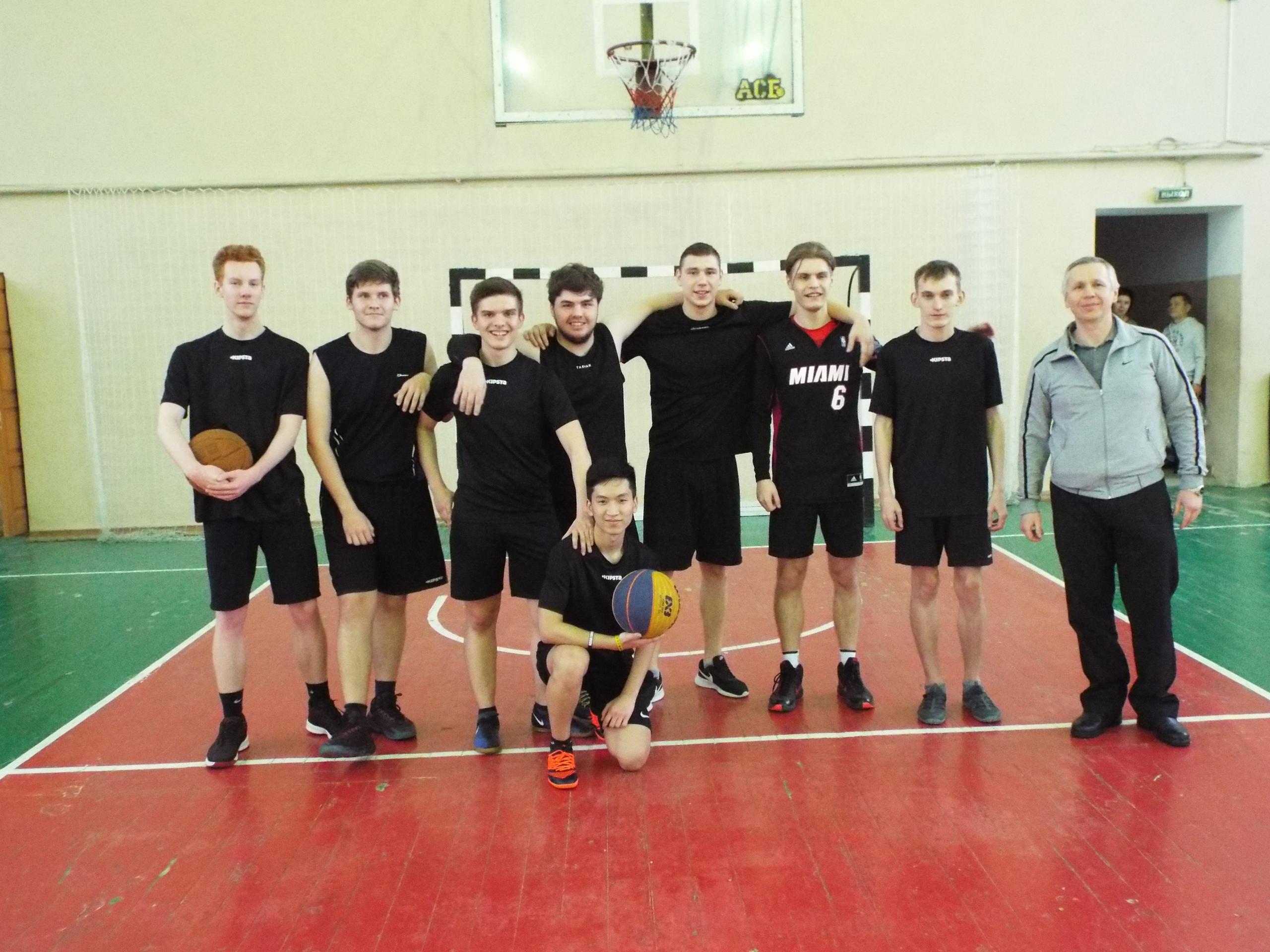 Открытый Чемпионат по баскетболу среди мужских команд