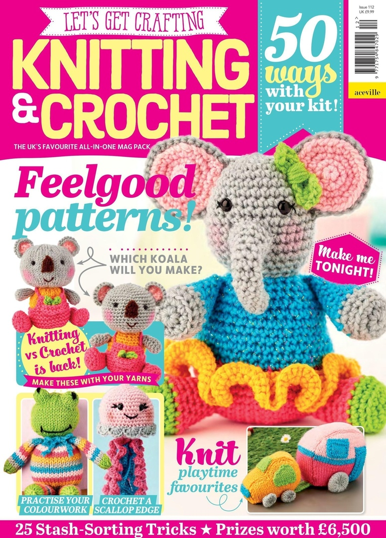 Let's Get Crafting Knitting & Crochet - August 2019