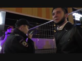 Кавказец не любит, когда его снимают