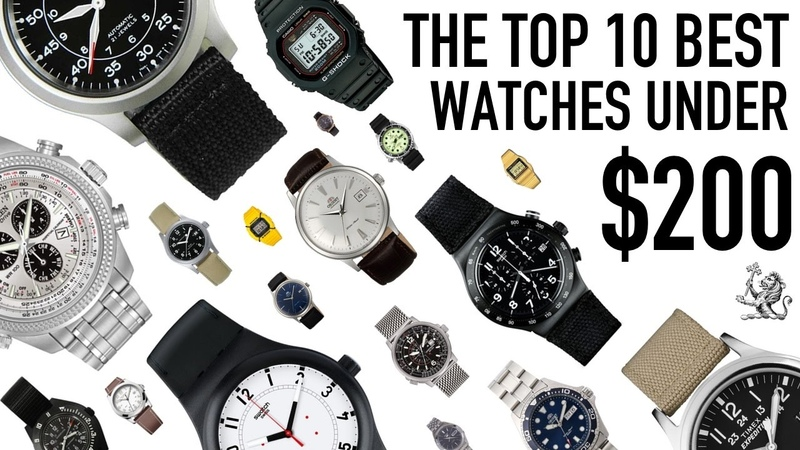Top 10 Best Value For Money Watches From $50 to $200 - Seiko, Citizen, Orient, Casio, Swatch More