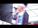 FANCAM Zion.T - Babay JOY OLPARK FESTIVAL Olympic Park (16.09.2018)