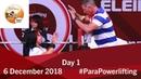 Day 1 WPPO Americas Open Championships Bogota 2018