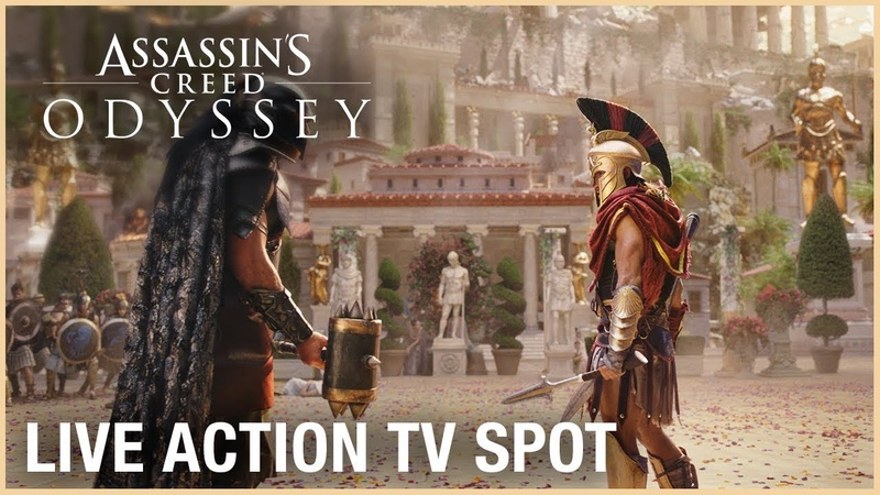 Assassins Creed Odyssey - Live Action TV Commercial [1080p HD]