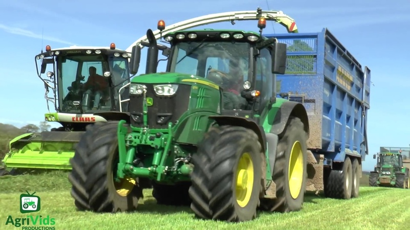 Silage 2018. Alvis Contracting Silaging